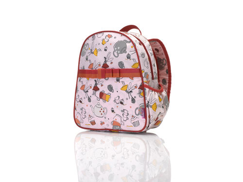 "BABYMEL Kinderrucksack rosa ""Tea Party"""