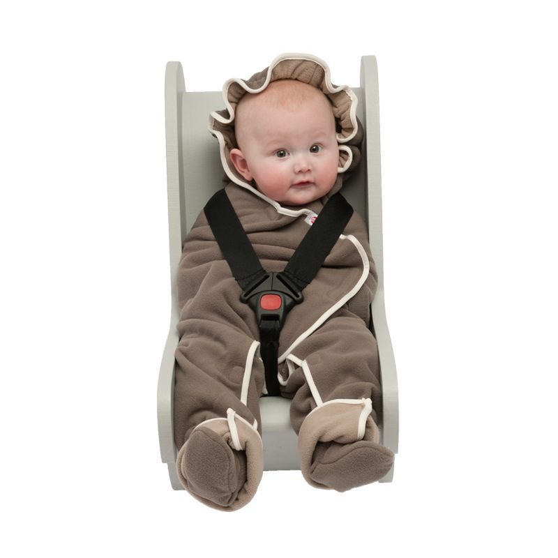 Lodger Babyprodukte Wrapper Motion Fleece buffalo-brown