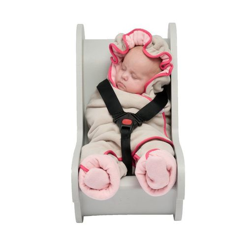 Lodger Babyprodukte Wrapper Motion Fleece Baby pink