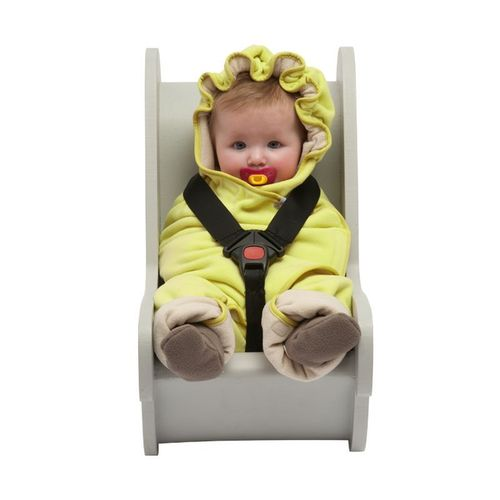Lodger Babyprodukte Wrapper Motion Fleece citrus-gelb